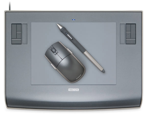 The wacom tablet is a device primarily used for graphic design it