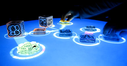 The reacTable, powered by reacTIVision