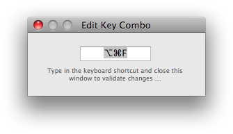 Key combo prompt second step